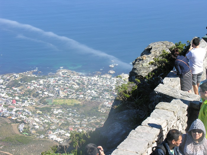 View from Table Mountain top