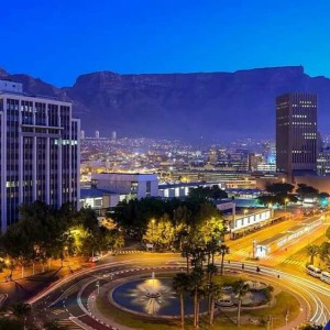 Cape Town Night Skyline