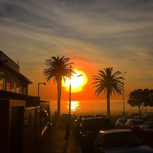 Sunset - Camps Bay Cape Town
