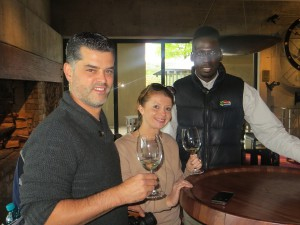Winetasting at Tokara